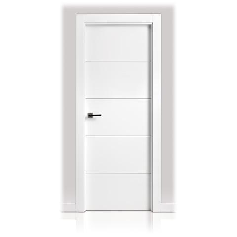 puerta lacada en block san rafael serie 9005