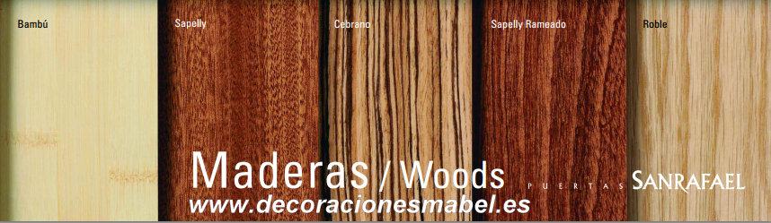 Acabados en madera barnizada