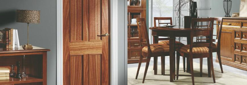 Catalogo de puertas de interior cl sicas decoraciones mabel for Ver precios de puertas