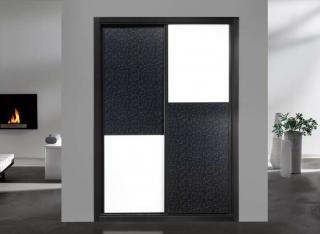 Frente de armario modelo Combinado Tecnconland + 1 Cristal Lacobel