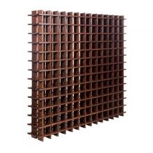 Botellero modular de pino macizo Rioja 169 Teñido Siena