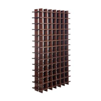 Botellero modular de pino macizo Rioja 78 Teñido Siena