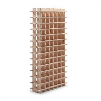 Botellero modular de pino macizo Rioja 78