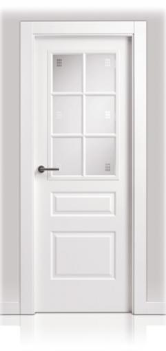 Puerta Lacada en block San Rafael Serie 9430 6v