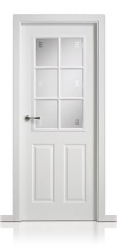 Puerta Lacada en block San Rafael Serie 9460 6v