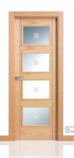 Puerta Serie Lisa San Rafael L61 4v